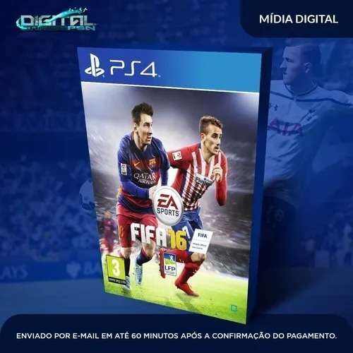 Fifa 16 Ps4 Primária Digital