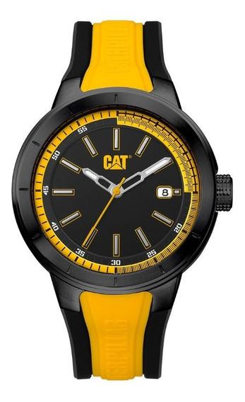 Reloj Hombre Cat Acero Inoxidable Amarillo Na16127127