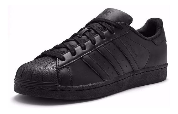 adidas Superstar Negro Black Original Envio Gratis
