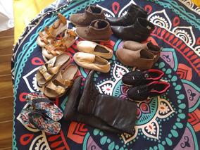 Lote De Zapatos Mujer Usados En Buen Estado