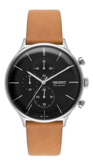 Relógio Orient Masculino Mbscc049 P1mx Cronógrafo Hardlex