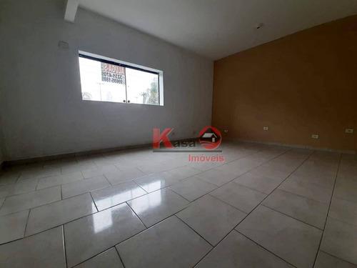 Sala Para Alugar, 25 M² Por R$ 1.150,00 - Embaré - Santos/sp - Sa0088