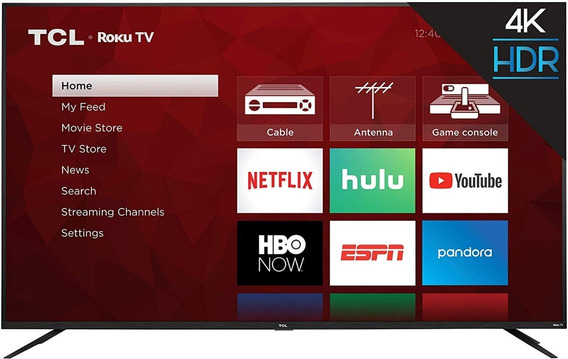 Tv Tcl 75s425 - 75 Polegadas - 4k Uhd Smart Roku