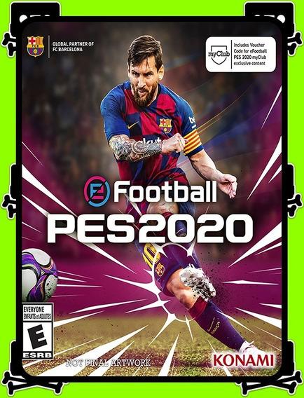 Efootball Pes 2020 Pt-br Pc - 100% Original (steam Key)