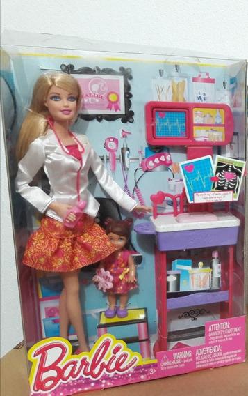 Barbie Pediatra 2013 Com Paciente E Consultório Lacrada