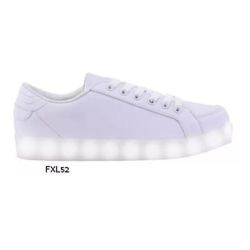Zapatillas Footy Luces Led Unisex Mmk Fxl52