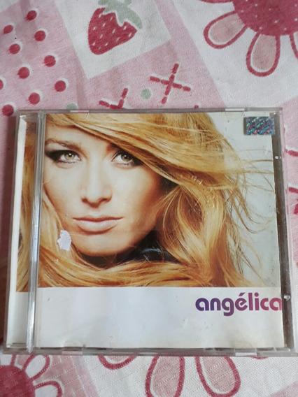 Cd Angelica 2001 Encarte Colado