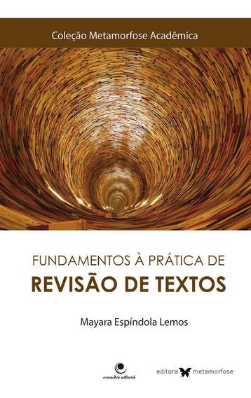 Livro Fundamentos À Prática De Revisão De Textos Mayara Espí