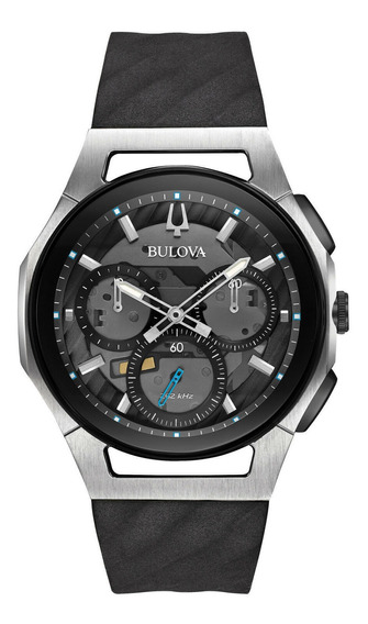 Relógio Masculino Bulova 98a161 Borracha