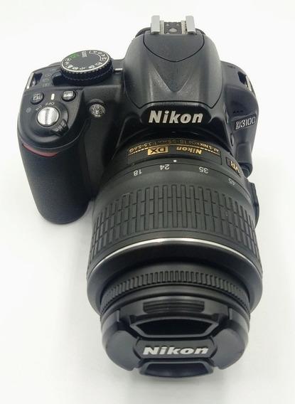 Câmera Nikon D3100 Kit Com 18-55 Mm Vr