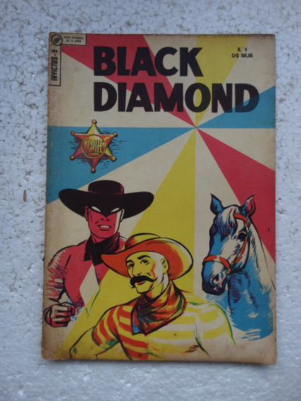 Invictus Nº 9! 2ª Série! Ebal Dez 1964! Black Diamond
