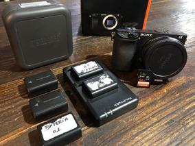 Sony A6300 + Metabones Speedboster Ultra + Sd 95mbs 64gb