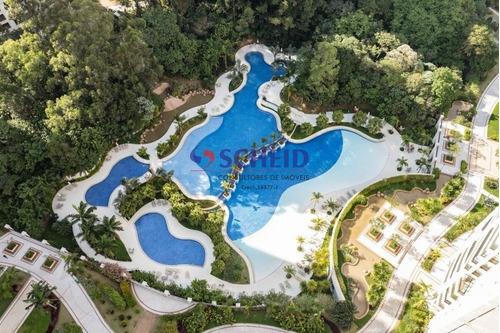 Oportunidade, Magnifico Apartamento Todo Mobiliado No Fantástico Condomínio Domínio Marajoara  - Mr74283