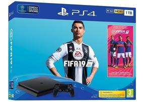 Console Playstation 4 Slim 1tb Usa Bundle Fifa 19