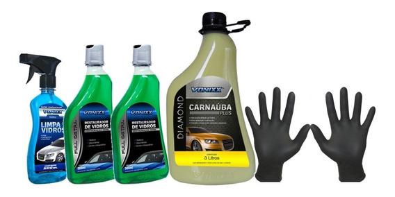 Limpa E Restaurador De Vidros Removedor Chuva Ácida Vonixx