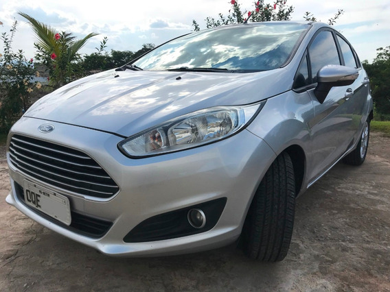 Ford New Fiesta 1.5 Se 2013/2014 - Prata