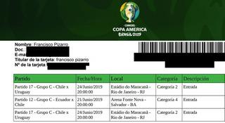 Entradas Categoria 2 Chile Vs Uruguay Copa America 2019