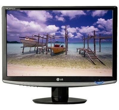 Monitor Lg Lcd Com Tela Widescreen De 17 Funções Especiai