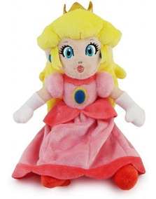 Boneca De Pelucia Princesa Peach Pronta Entrega
