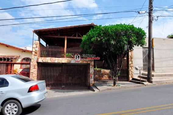 Casa 03 Quartos À Venda, Bairro Santa Mônica, Belo Horizonte - Mg. - 5433