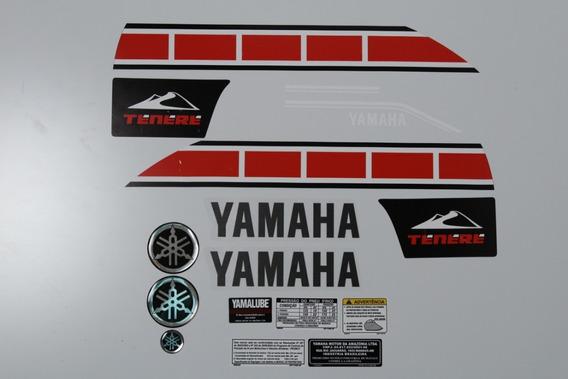 Adesivo Yamaha Tenere 250 2013 Branca 14340