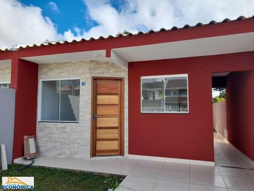 Casa Para Venda Em Fazenda Rio Grande, Eucaliptos, 3 Dormitórios, 1 Banheiro, 2 Vagas - 1308_2-1146671