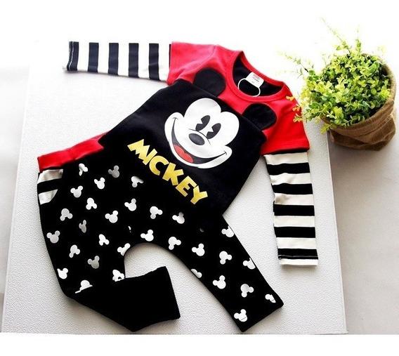 Conjunto Infantil Menino Mickey .