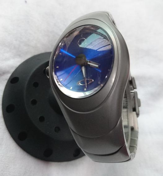 Reloj Oakley Time Bomb Hydrophobic-xmetal-titanium # 000126