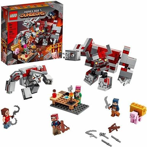 Imagen 1 de 3 de Lego La Batalla Por La Piedra Roja 21163