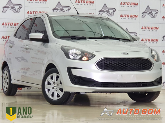 Ford Ka 1.0 Se/se Plus Tivct Flex 5p - Prata - 2019