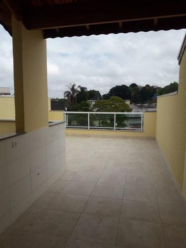Imagem 1 de 13 de Cobertura Com 2 Dormitórios À Venda, 86 M² Por R$ 350.000,00 - Vila Scarpelli - Santo André/sp - Co1370
