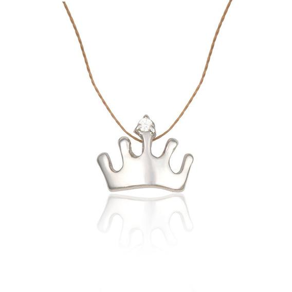 Coroa Banhado À Ródio