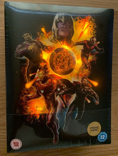 Avengers Endgame: Steelbook 4k Ultra Hd Collector´s Edition