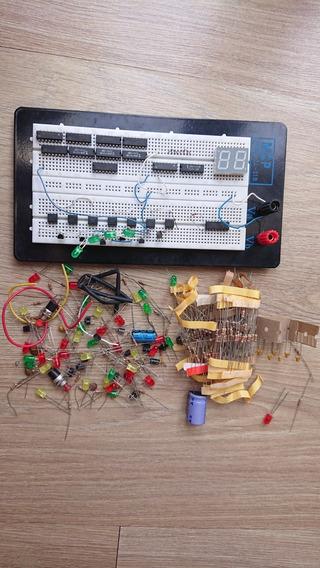 Protoboard Mcp Modelo Ll-21b+ Componentes Diversos.