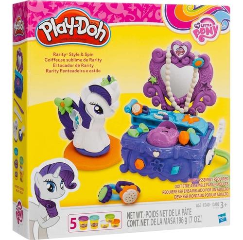 Set El Tocador De Rarity Plastilina Play-doh My Little Pony