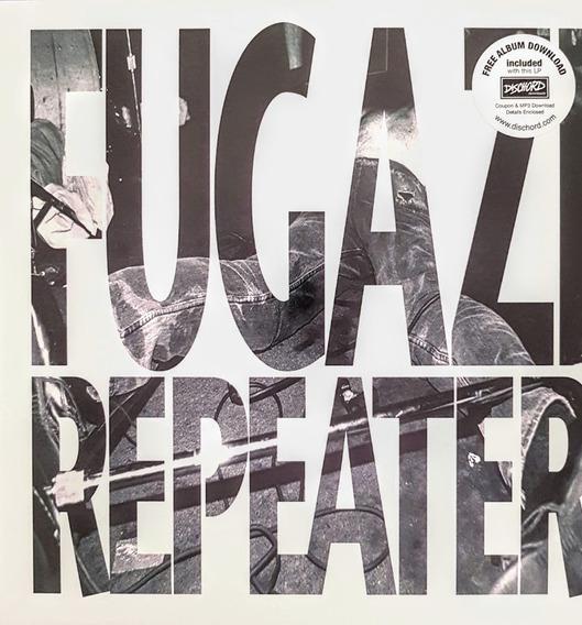 Lp Fugazi Repeater - Importado Novo Remaster Edition Lacrado