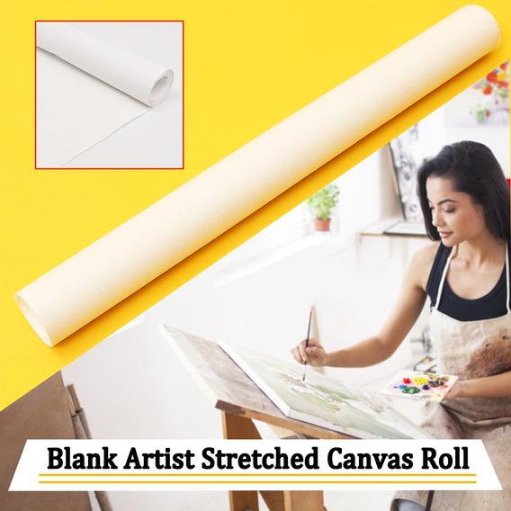 Novo Artista Branco Lona Rolo Artes Pintura De Algodão Art A