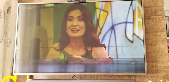 Smart Tv Lg 4k 49 - Mod.: Uh6500 (defeito Na Tela)