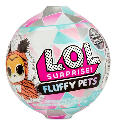 Boneca Lol - 7 Surpresas - Fluffy Pets