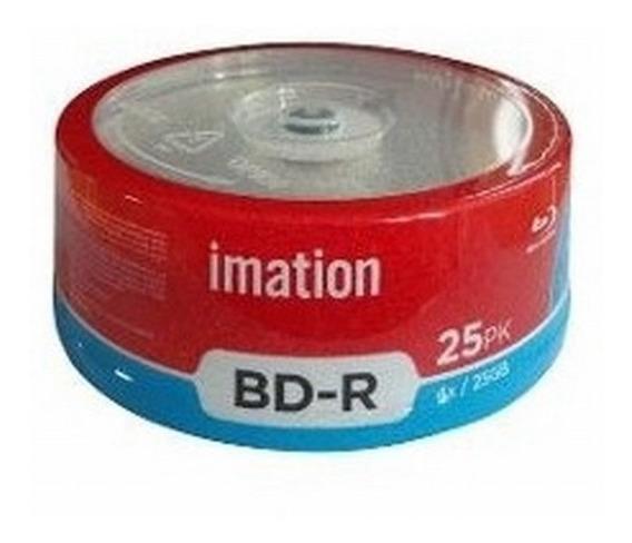 Discos Blu-ray Marca Imation Pack 25 Und 25gb 4x