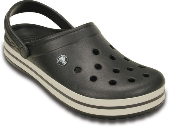 Sandalias Crocs Originales Crocband Adulto Graphite