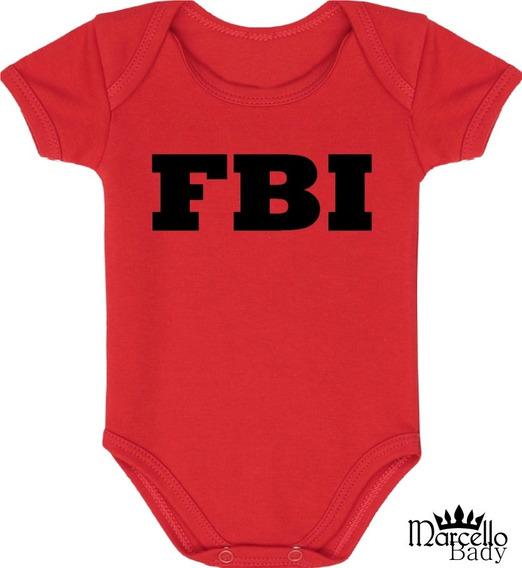 Body Bebê Fbi- 82
