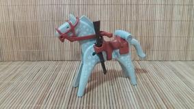 Lote 5145 - Cavalo Cinza E Branco - Montarias Do Velho Oeste