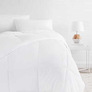 Edredon Cobertor Relleno Blanco Recamara Amz Bsc King Size