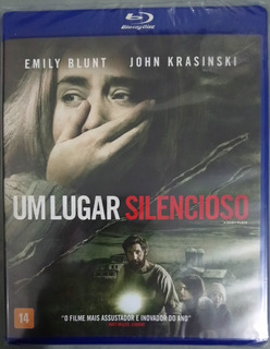 Blu-ray Um Lugar Silencioso (2018) - Lacrado