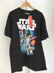 Playera Star Wars 2xl Negro Nuevo/original