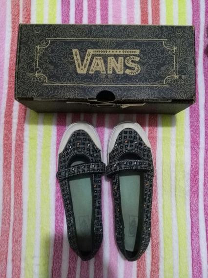 Vans Originales Mujer Zapatillas Zapatos Guillerminas 36