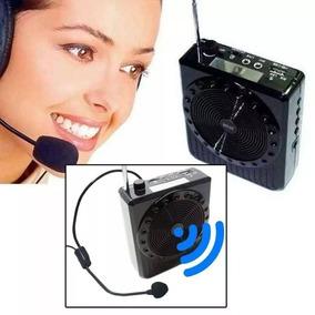 Radio Fm Ou Megafone Ideal P/ Aulas, Palestras D-k150 Nf-e