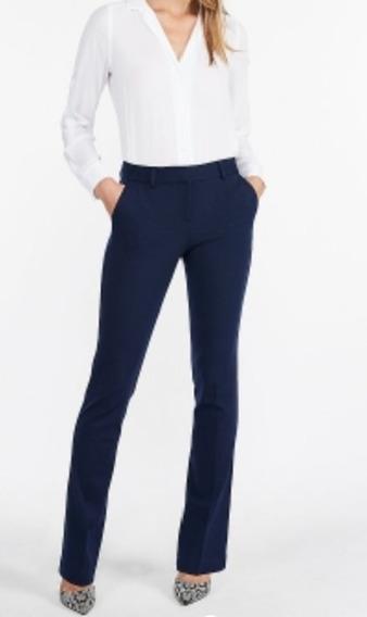Pantalon De Vestir/ Uniforme De Mujer Marca Express
