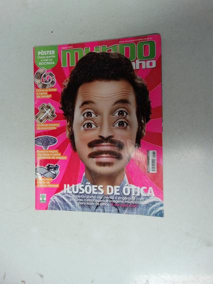 Mundo Estranho Nº 138! Ilusões De Ótica! Maio 2013!